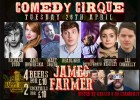 Comedy Cirque with James Farmer