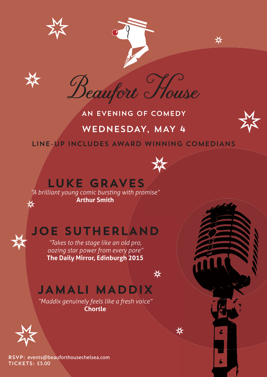 Comedy Night at Beaufort House Chelsea