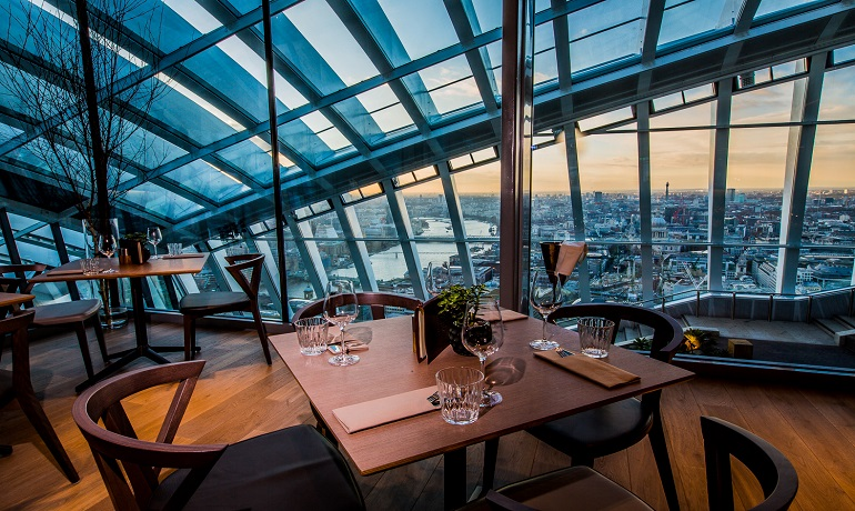 Darwin Brasserie At Sky Garden London Restaurant Review