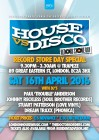 House vs Disco - Record Day Special