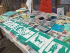 Screen Printing at Look Mum No Hands!