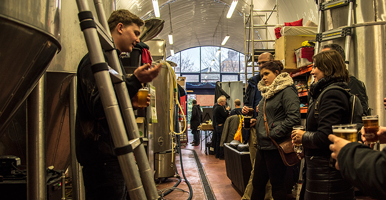 Maltby street food market craft beer brewery tour for Craft beer tour london