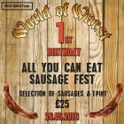 World of Wurst - All You Can Eat Sausage Fest at Pop Brixton