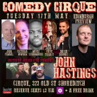 John Hastings Edinburgh Preview @ComedyCirque