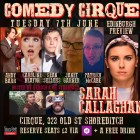 Sarah Callaghan Edinburgh Preview @ComedyCirque