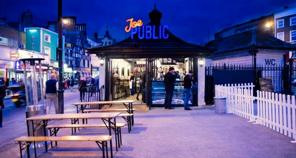 Joe Public Takeaway pizza bar concept comes to Clapham Common