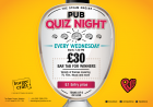 Pub Quiz Night - Wednesdays