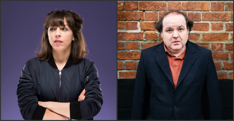 Bridget Christie and Ed Aczel Edinburgh previews in Angel