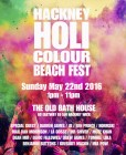Hackney Holi Colour Beach Fest