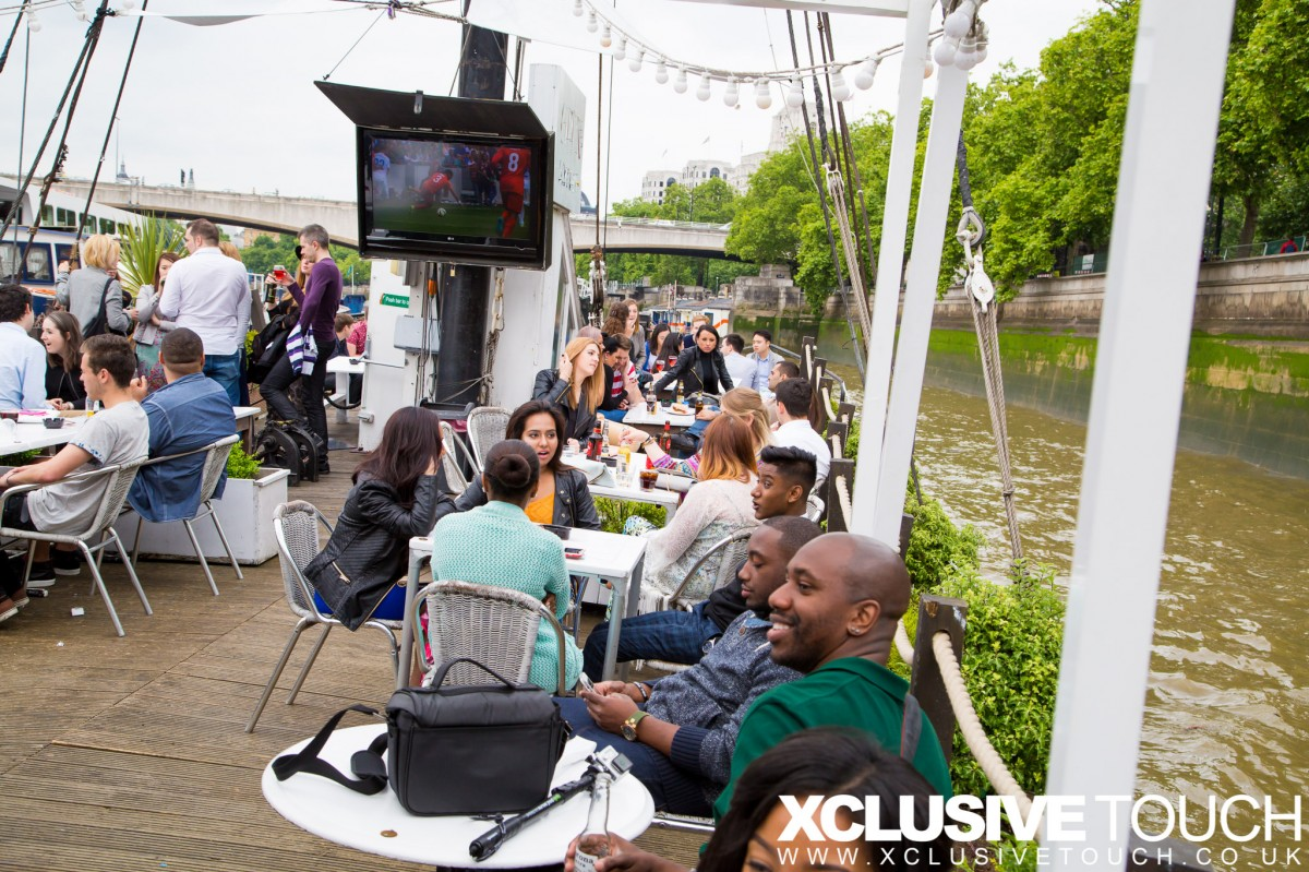 Spanish Summer BOAT PARTY, Rock the Thames!