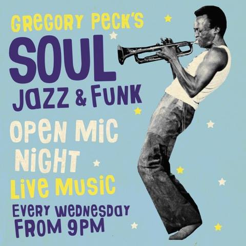 Gregory Pecks Jazz, Funk and Soul open mic night