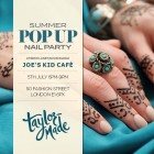 Summer Pop Up Nail Party