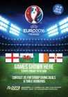 Euro 2016 England Vs Russia at McQueen Shoreditch
