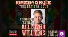 Alistair Williams Edinburgh Preview