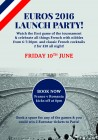 Euros 2016 Launch Party