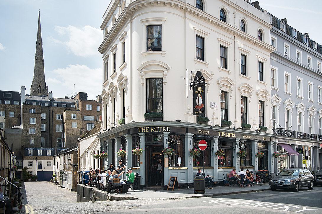 The Mitre Pub Lancaster Gate London Pub Reviews