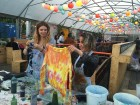 Tie Dyeing at The Aeronaut