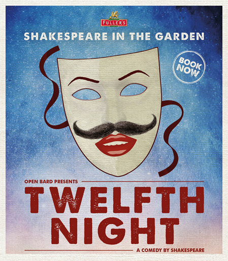 Shakespeare in the Garden - Twelfth Night at The Frog and Wicket