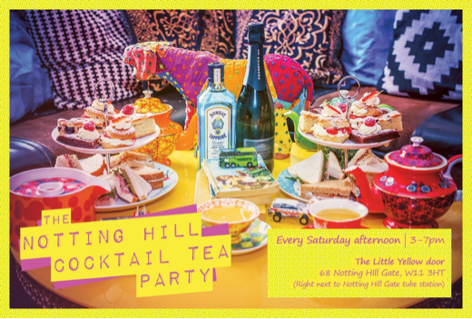 Notting Hill Cocktail Tea Party