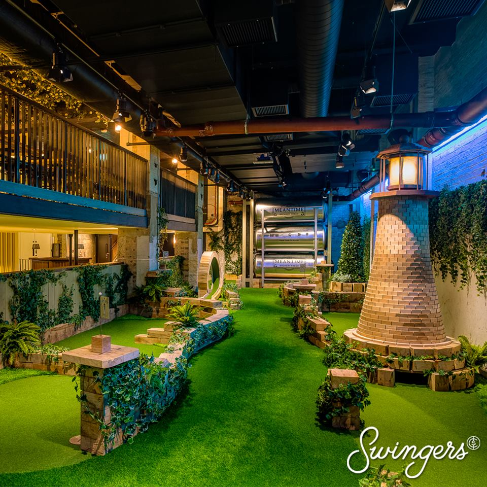 Swingers Crazy Golf City of London | London Bar Reviews