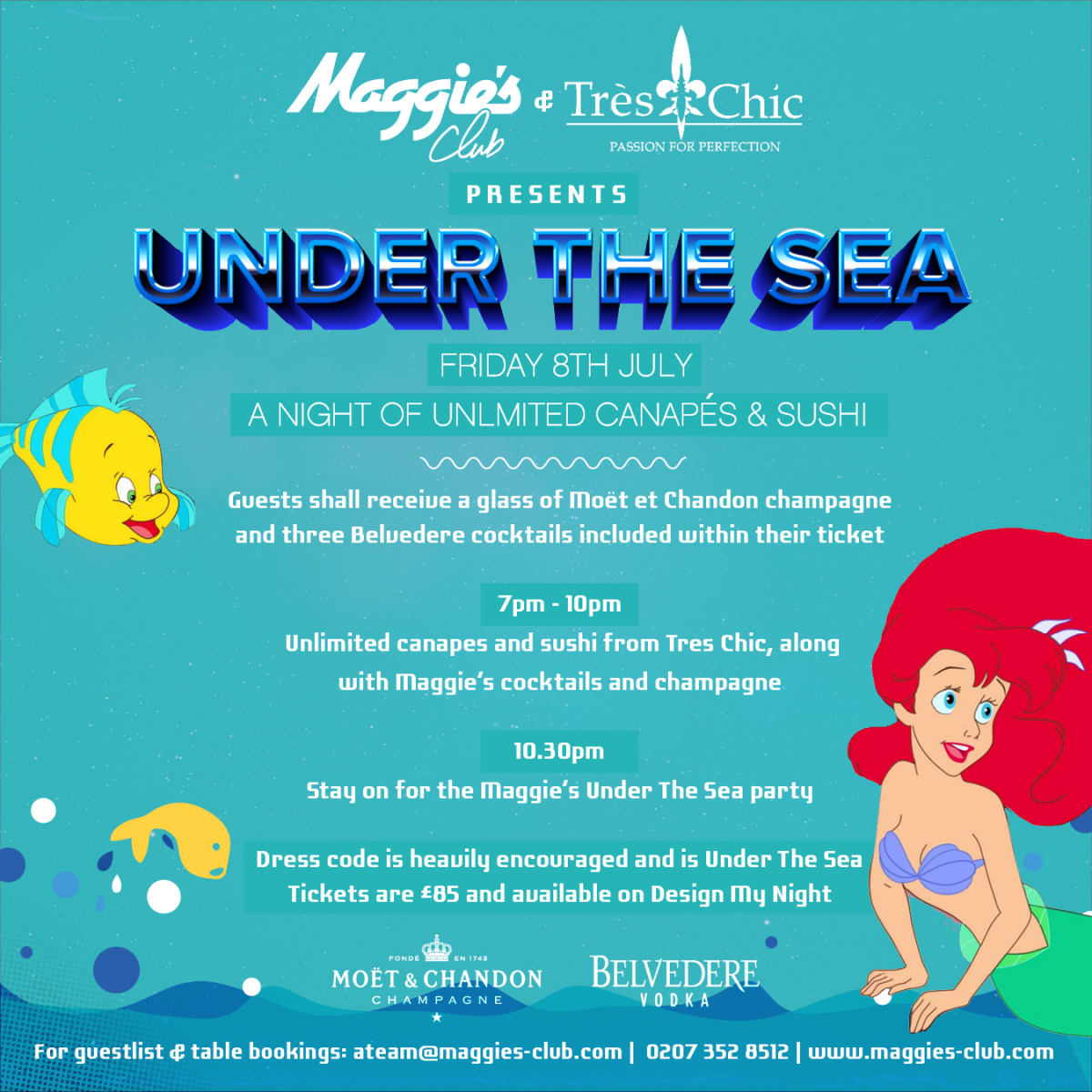 Under The Sea Supper Club