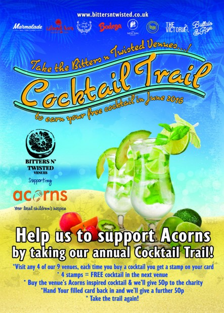 Join us on the Cocktail Trail!