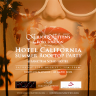 Hotel California - Summer rooftop party with Kurious Kittens