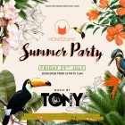 Montezuma  :: Summer Party - DJ Tony Piscitelli