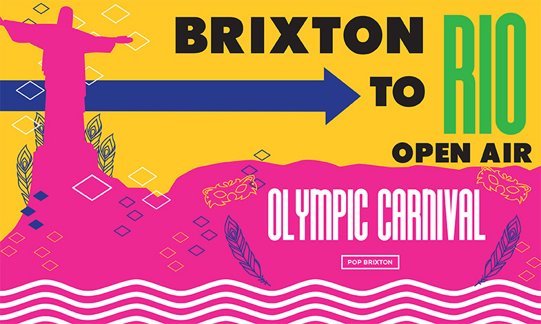 Brixton to Rio Open Air Olympic Carnival