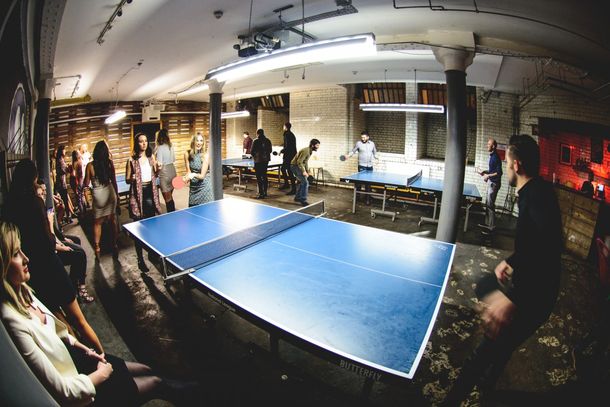 Service Please- Ping Pong Tournament