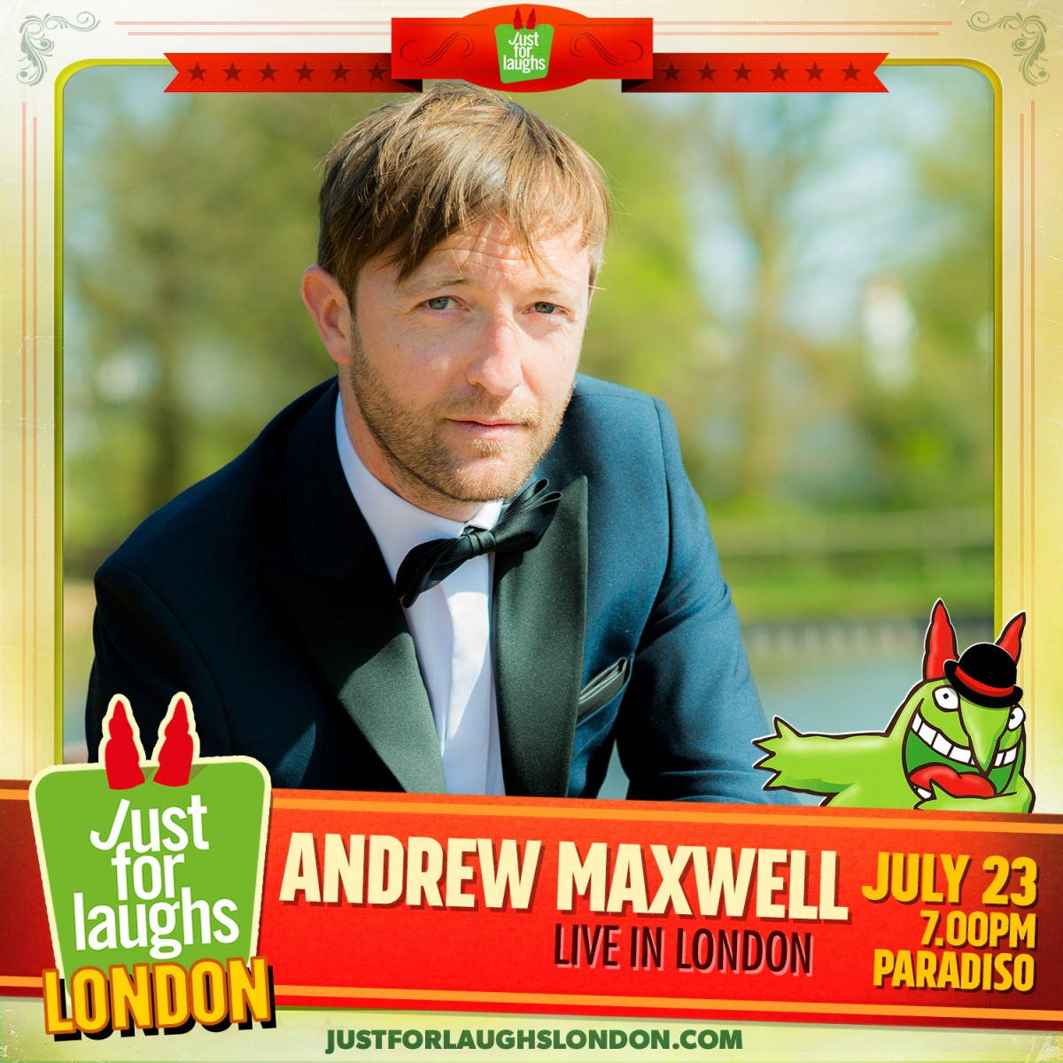 Andrew Maxwell Live in London