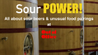 Sour Power beer tasting and blending