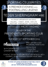 An Exclusive Dinner with Teddy Sheringham MBE