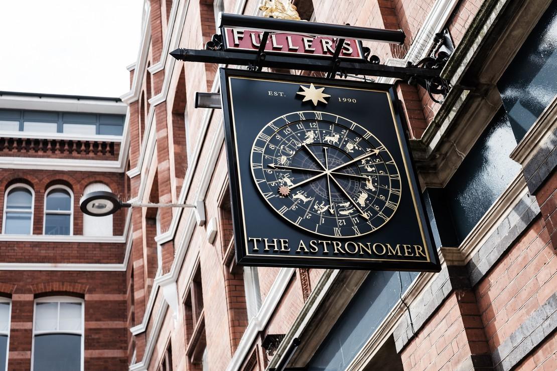 the astronomer liverpool street