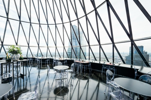 Searcys Bar The Gherkin Bar And Venue London Designmynight