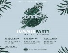 Ears to the Ground presents Shades Summer Party