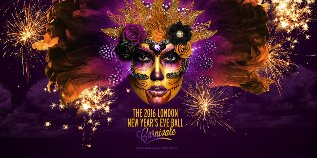 The 2016 London New Years Eve Ball