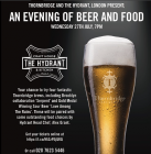 Thornbridge Food Pairing & Tap take over @ The Hydrant