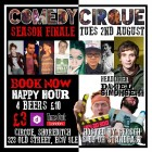 Comedy Cirque Season Finale with Daniel Simonsen