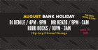 August Bank Holiday Weekend at Walrus