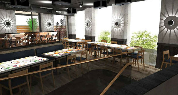Inamo Camden Inamo's interactive dining and Asian-fusion fun opening in Camden