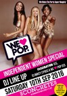 WeLovePop Club's INDEPENDENT WOMEN SPECIAL