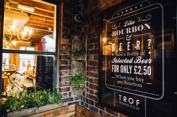 Trof northern quarter manchester bar reviews designmynight for Terrace northern quarter