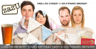 Comedy at Southwark Brewery for London Brewery Tour's 2nd Birthday Party