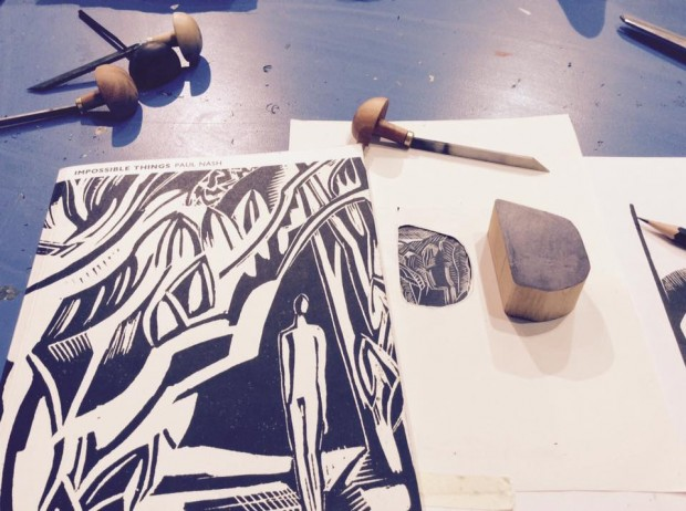 Wood Engraving at The Doodle Bar
