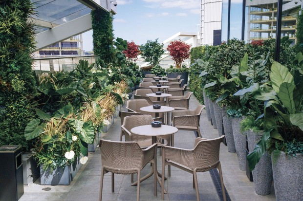 Sky Bar & Terrace at Aspers Casino photo