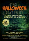 Pirates Halloween Boat Party