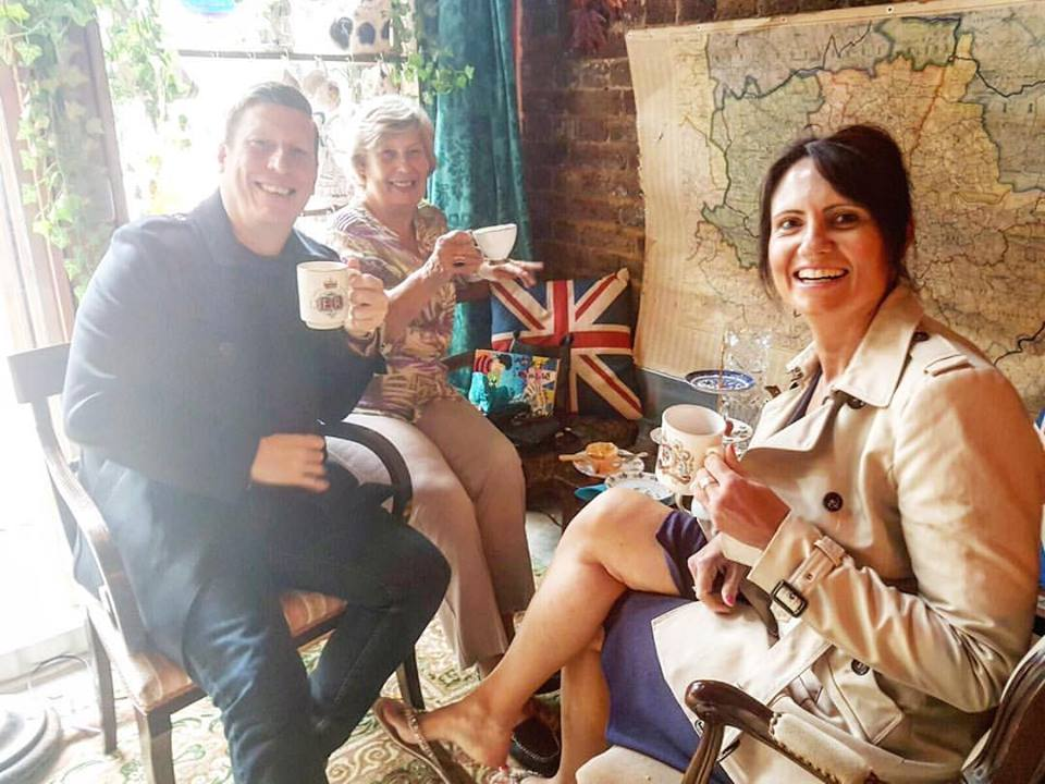 Easter Boozy Afternoon Tea in Deptford