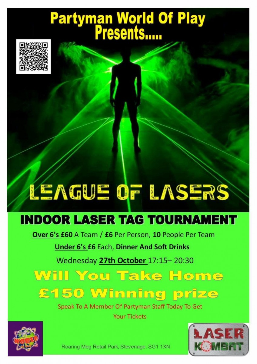 Laser Tag Competition Uk Something A Little Different
