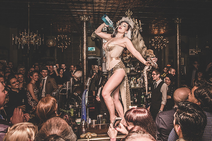 GIN HOUSE BURLESQUE - The new age May Revue